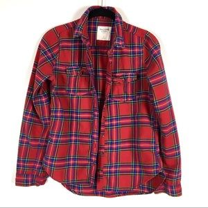 Abercrombie & Fitch women's fit flannel