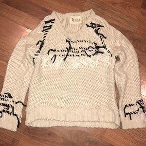 For love and Lemons Knitz Sweater