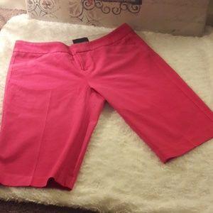 Cynthia Rowley Pink Bermuda shorts
