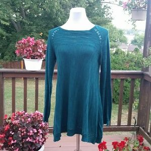 Anthropologie Knitted and Knotted Tunic