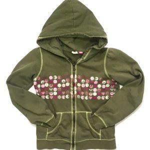 Cute Girls ROXY hooded sweatshirt