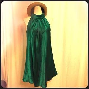 Emerald Green Forever 21 Dress