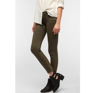 BDG Twig Mid Rise Ankle Green