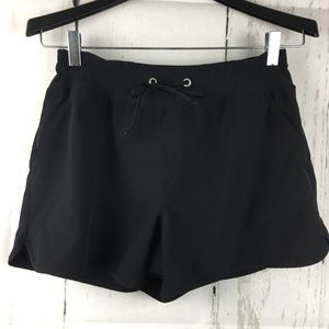 • Lucy • Athletic Work Out Black Shorts