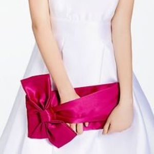 Kate Spade Evening Belles Gini Clutch Fuchsia