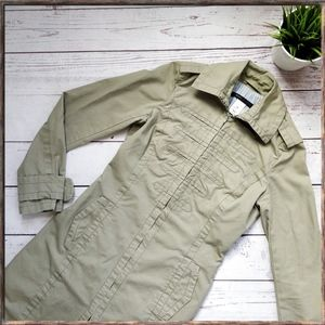 MARC BY MARC JACOBS Long Military Green Jacket XS