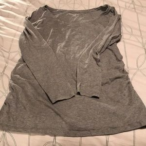 Super Soft Maternity Gray Tee, Size XL