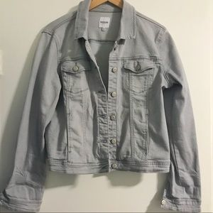 Kensie Gray Denim Jacket