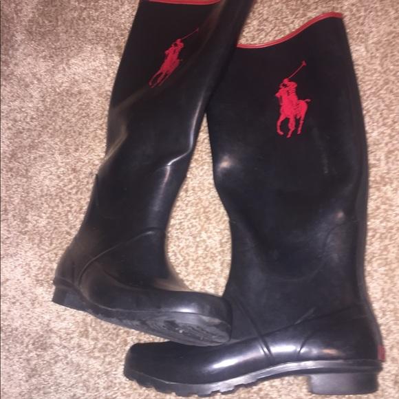Polo Ralph Lauren Rubber Boots