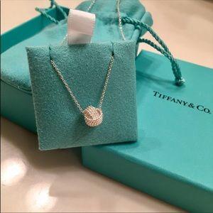 Tiffany Twist Knot Necklace