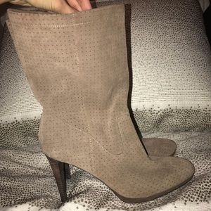 H&M Perforated Ankle Boot