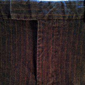 Gap Black Striped Dress Pants 30/32