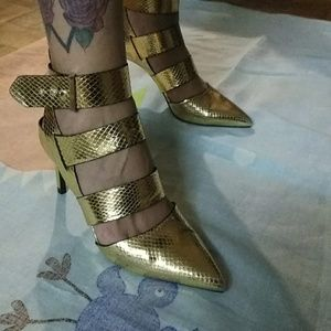 Zara. Height heels
