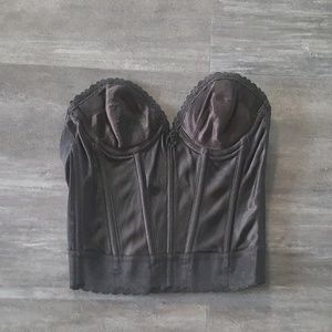 Other - Black Bold Seductive Corset Bra
