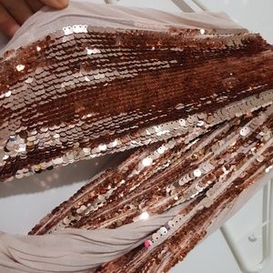 Express sequin scarf
