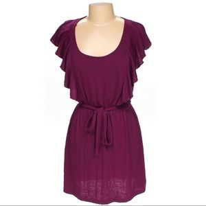 Xhilaration Purple Frilly Dress