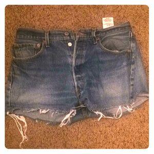 Vintage 501 Levi shorts