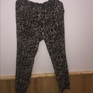 Leopard Patterned Lounge Pants