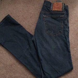 Men's Levi blue jeans
