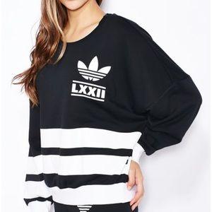 Adidas originals Berlin Logo 3 Stripes Crew Sweat