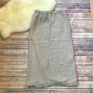 Flax by Jeanne Engelhart Maxi Skirt