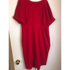 ASOS Curve Midi Dress