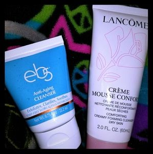 Lancome & eb5 facial wash