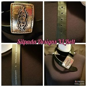 Silpada Designs Black XL Belt