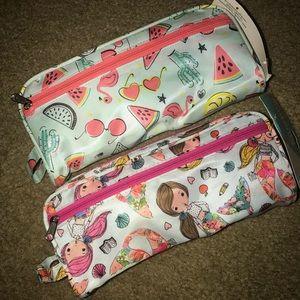 🧜🏽♀️ Pencil cases flamingo & mermaids