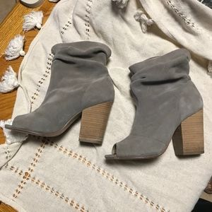 Chinese Laundry Open toe booties | sz. 8 - 8.5