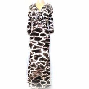 Roberto Cavalli Maxi Dress Leopard Animal Print 6