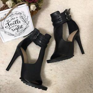 Zara Trafaluc Ankle Bracelet High Heels Sz 37 (7)