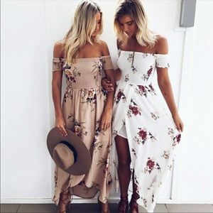 Floral ots dress