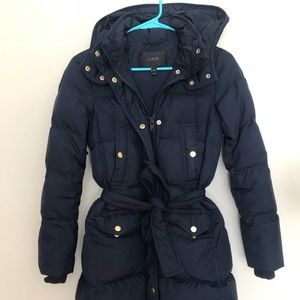 J Crew Wintress Puffer Coat