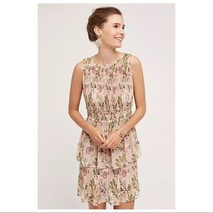 Anthropologie Tracy Reese Terraced Garden Dress L