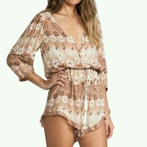 SPELL AND THE GYPSY DAISY CHAIN PLAYSUIT ROMPER M