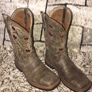 Twisted X steel toe boot 7.5