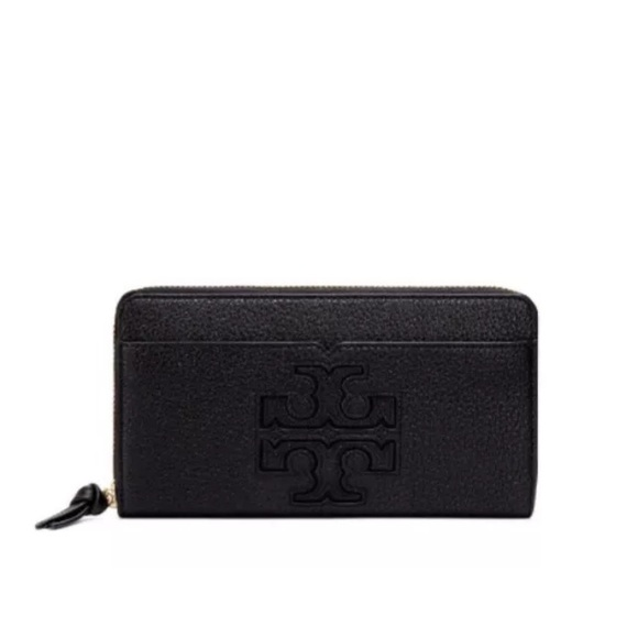 58fa30bea1e7 Tory Burch Harper zip Around Continental Wallet