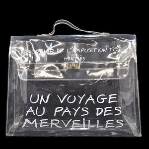 HERMES Vinyl Kelly Bag Limited Edition