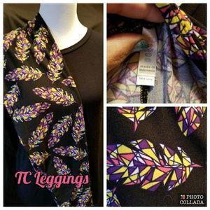 Tc Lularoe Feather leggings