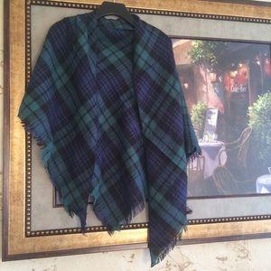 Tartan shawl/scarf