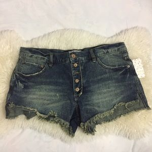Free People Cut-Off Shorts