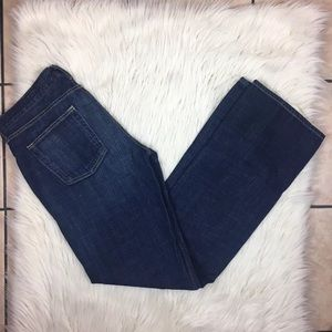 J. Crew Women's Hipslung Jeans Size 30 Reg Dark