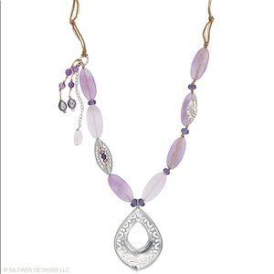 N2015 Silpada Amethyst Lavender Necklace