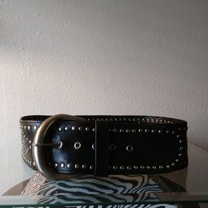 XHILARATION faux leather belt