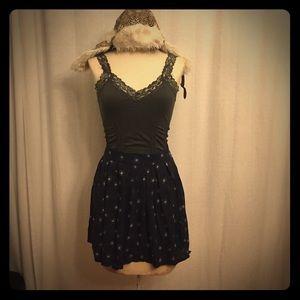 Navy Frenchi Skirt