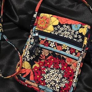 Vera Bradley Mini Hipster Cross Body. Used once!
