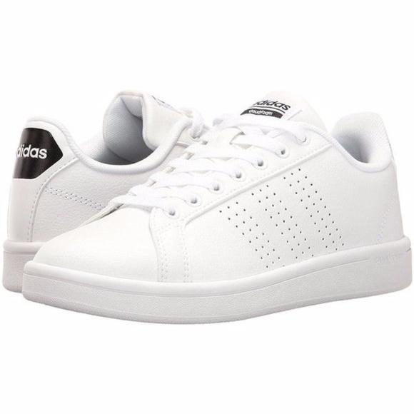 NEO Cloudfoam Advantage Comfortable White Sneakers
