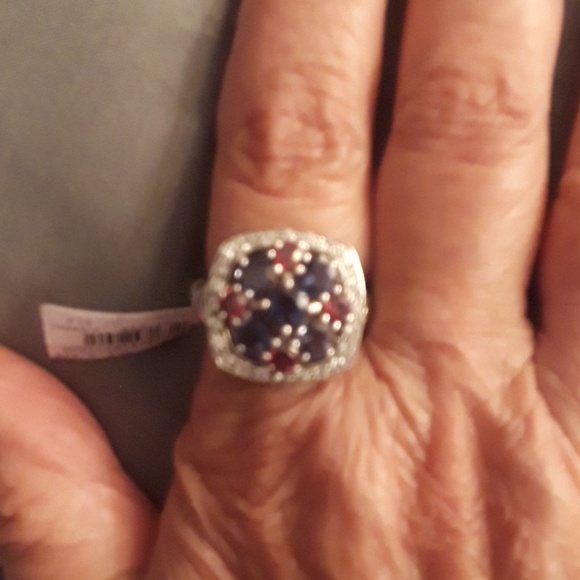 Genuine Rose Quartz Pear /& .925 Silver Overlay Solitaire Rings 2.70ctw