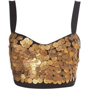 Gypsy Coin Bralette